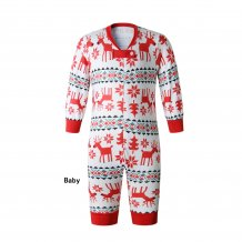 Family Wear Baby's Christmas Elk Pajama