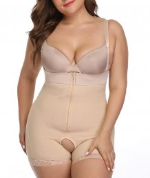 One-Piece Under Bust Shaper Wear