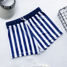 Sexy Stripped Strings Beach Shorts