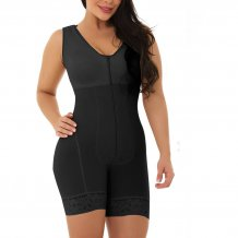 Sexy Sleeveless One-Piece Body Shaper