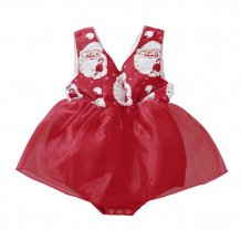 Baby Girl Christmas Red Party Dress