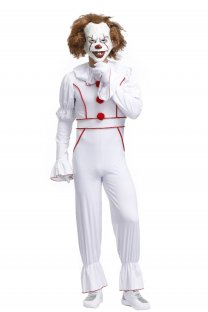 Men White Halloween Costume