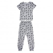 Kids Boy Print Summer Pajama Set