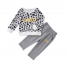 Kids Girl Leopard Shirt and Pants