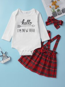 Baby Girl Three Piece Skirt Set