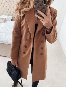 Office Lady Long Blazer Coat with Full Sleeves