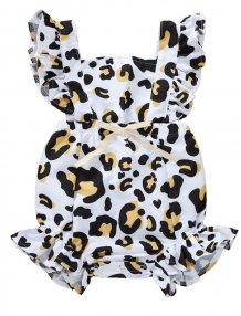 Baby Girl Leopard Print Summer Rompers
