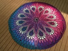 Indian Mandala Round Beach Towel 21434-2
