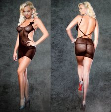Fishnet Babydoll Lingerie Bodystocking 15013-2