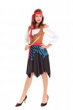 Female Pirate Costume  27348