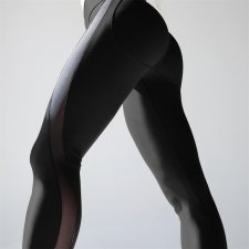 Leggings de yoga fitness sexy maille accent