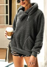 Polar Fleece Turndown Collar Pullovers