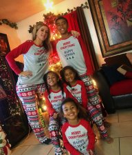 Christmas Family Daddy Pajamas Set