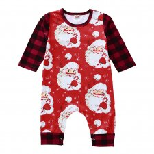 Baby Boy Cotton Christmas Onesie Rompers