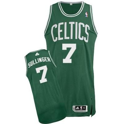 Revolution 30 Boston Celtics #7 Jared Sullinger Green White No Stitched NBA Jersey