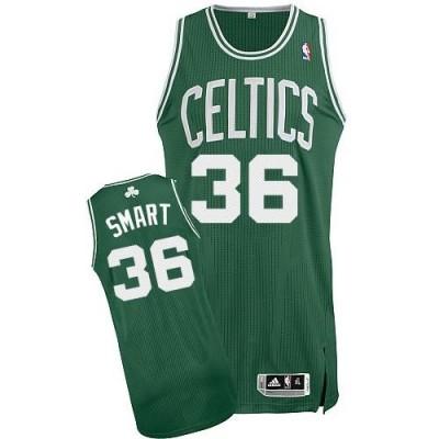 Revolution 30 Boston Celtics #36 Marcus Smart Green Stitched NBA Jersey