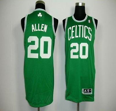 Revolution 30 Boston Celtics #20 Ray Allen Green Stitched NBA Jersey