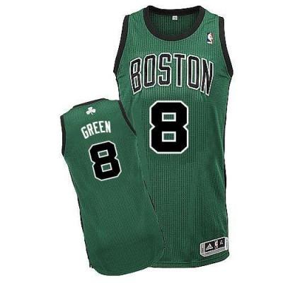 Revolution 30 Boston Celtics #8 Jeff Green Green Black No Stitched NBA Jersey