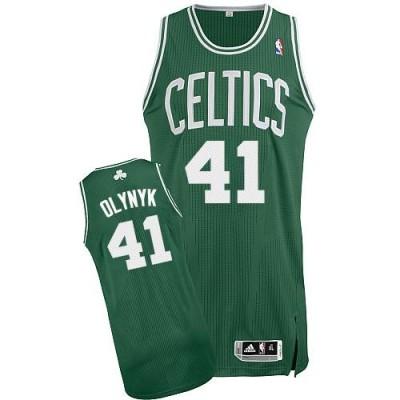 Revolution 30 Boston Celtics #41 Kelly Olynyk Green White No Stitched NBA Jersey