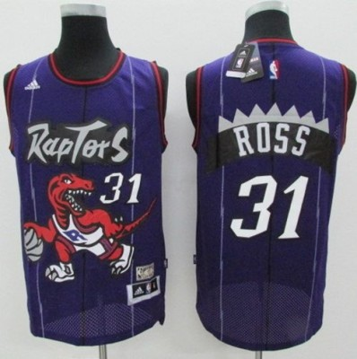 Toronto Raptors #31 Terrence Ross Purple Hardwood Classics Stitched NBA Jersey
