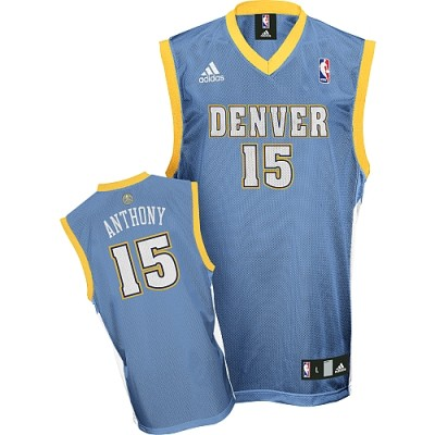 Denver Nuggets #15 Carmelo Anthony Stitched Baby Blue Youth NBA Jersey