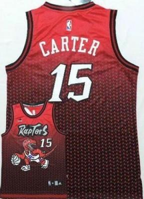 Toronto Raptors #15 Vince Carter Red Resonate Fashion Stitched NBA Jersey