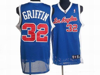 Los Angeles Clippers #32 Blake Griffin Stitched Blue NBA Jersey