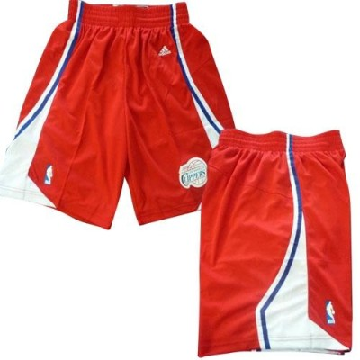 Los Angeles Clippers Red NBA Short