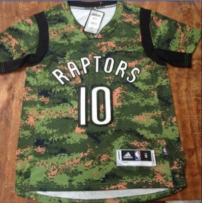Toronto Raptors #10 DeMar DeRozan Camo Pride Stitched NBA Jersey