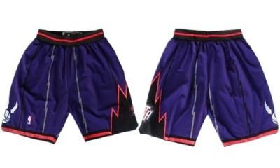 Toronto Raptors Purple NBA Shorts