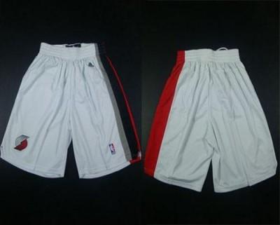 Portland Trail Portland Trail Blazers White Shorts