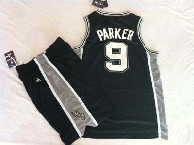 The spurs suit #9  black