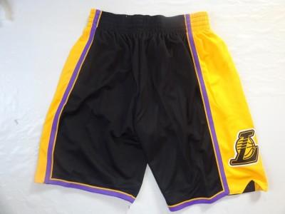 The lakers' new black shorts