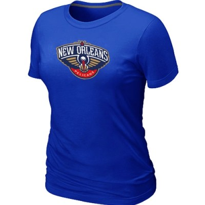 New Orleans Pelicans Big & Tall Primary Logo Blue Women's T-Shirt