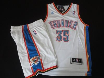 The thunder team suit #9 white