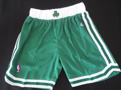 The celtics pants green ball