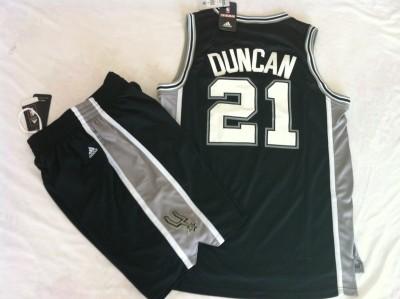 The spurs suit #21 black