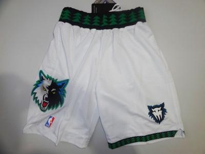 The NBA network eyeball pants - the timberwolves retro white