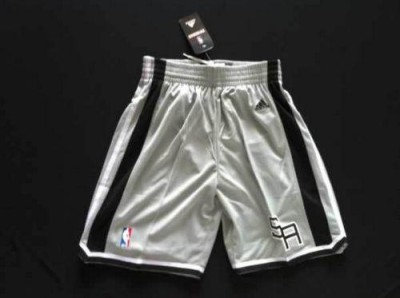 San Antonio Spurs Grey NBA Shorts