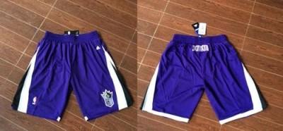 Sacramento Kings Purple NBA Shorts
