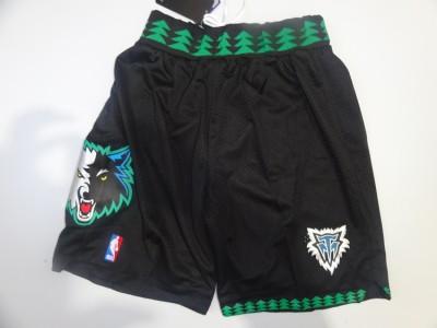 The NBA network eyeball pants - the timberwolves retro black