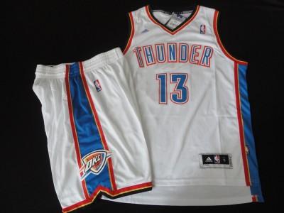 The thunder team suit #13 white