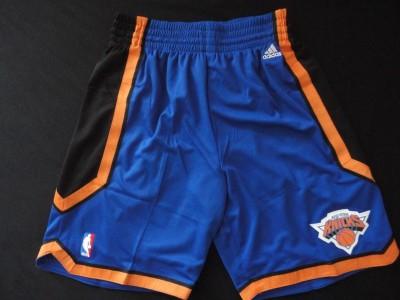 The knicks blue shorts