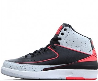Authentic Air Jordan 2 Infrared Cement