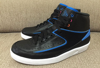 Authentic Air Jordan 2 Retro Radio Raheem