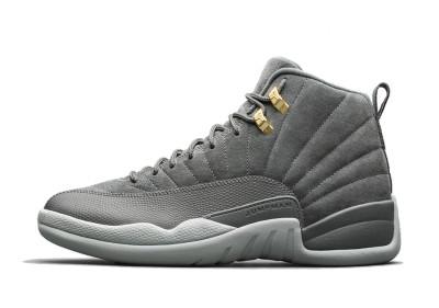 Authentic Air Jordan 12s Dark Grey