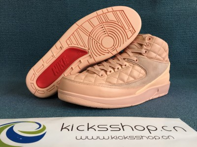 Authentic Just Don x Air Jordan 2 Arctic Orange