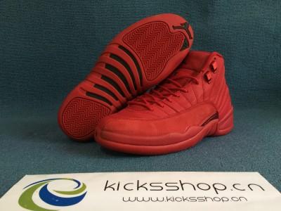 "Authentic Air Jordan 12 ""Gym Red"""