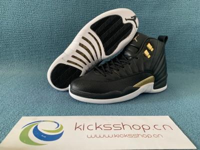 Authentic WMNS Air Jordan 12  Midnight Black