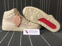 Authentic Just Don x Air Jordan 2 Beach